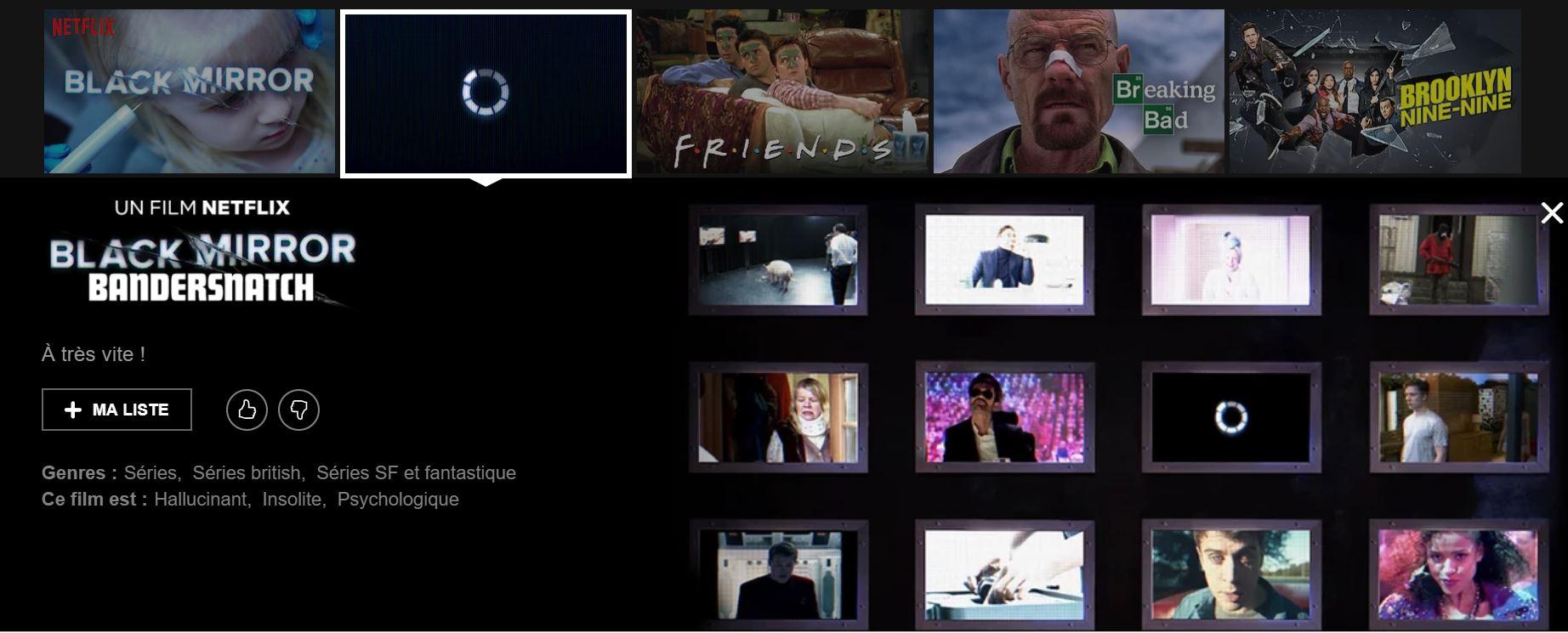 Black Mirror: Bandersnatch sur Netflix