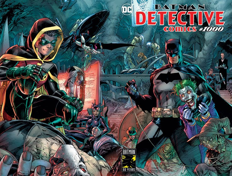 Detective Comics #1000 - couverture de Jim Lee