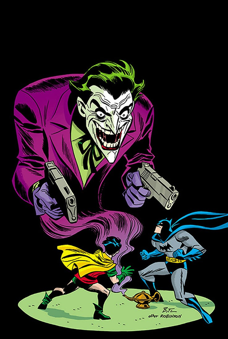 Detective Comics - Couverture alternative 1940 par Bruce Timm
