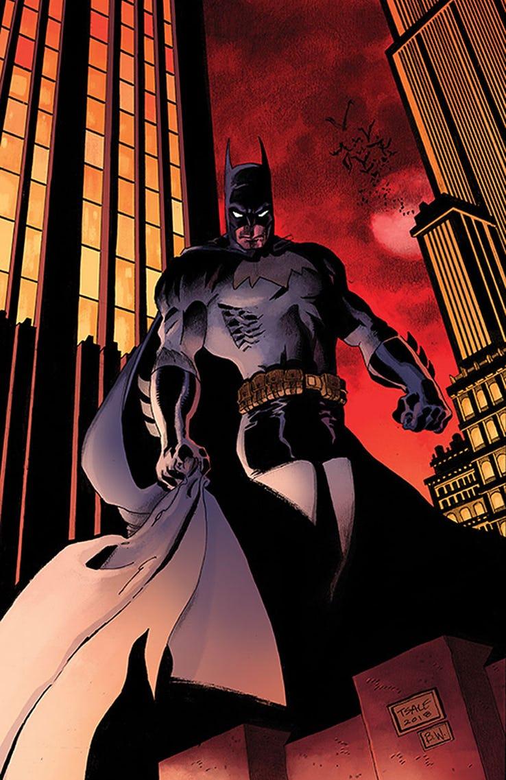 Detective Comics - Couverture alternative 1990 par Tim Sale