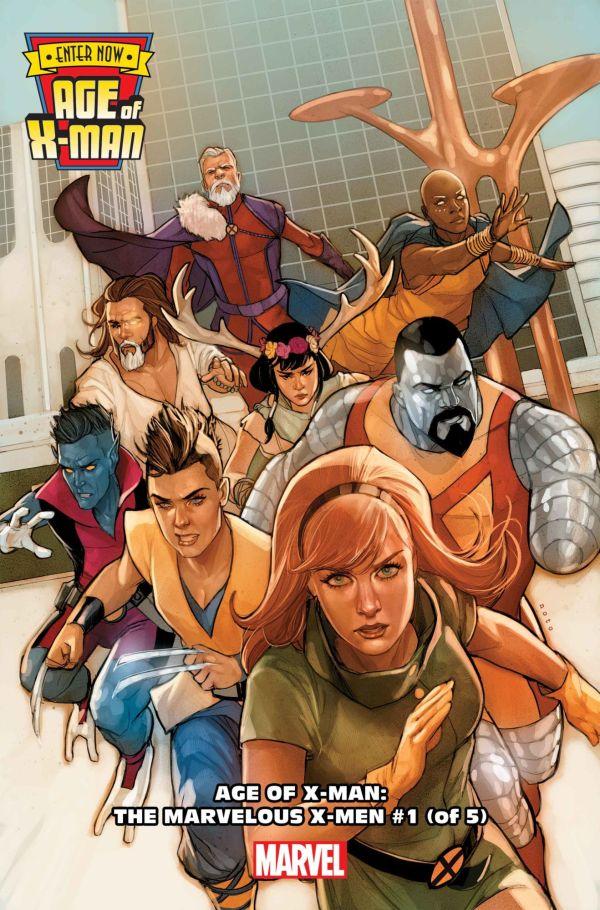 Age of X-Man: The Marvelous X-Men #1 par Phil Noto (Marvel Comics)
