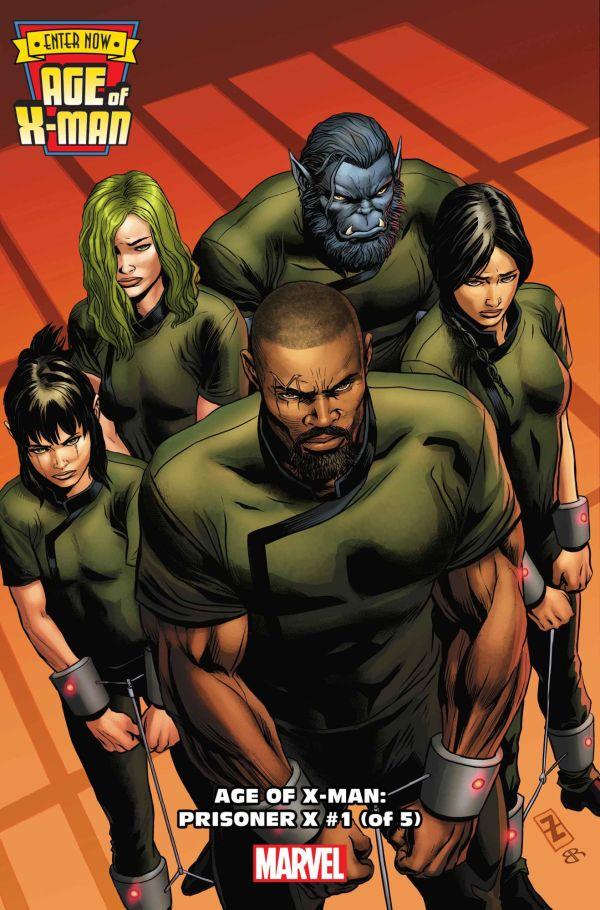 Age of X-Man: Prisoner X #1 par Patrick Zircher (Marvel Comics)