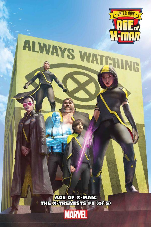Age of X-Man: The X-Tremits #1 par Rahzzah (Marvel Comics)