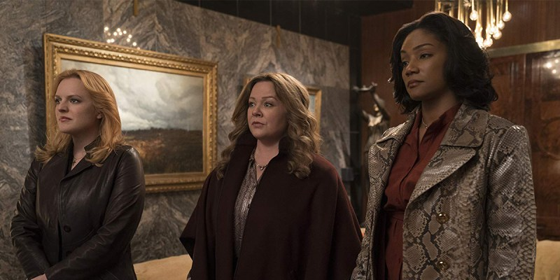 Melissa McCarthy, Tiffany Haddish et Elisabeth Moss dans The Kitchen