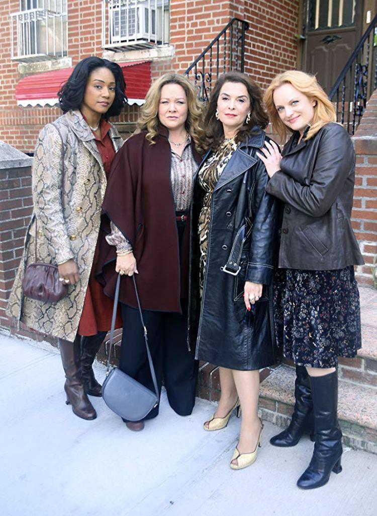 Melissa McCarthy, Tiffany Haddish et Elisabeth Moss dans The Kitchen