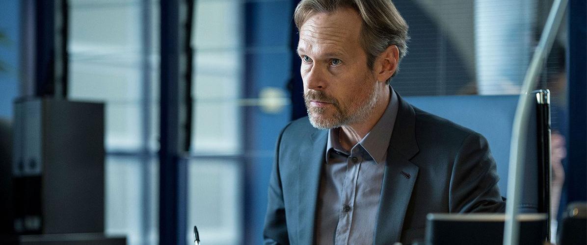 Allistair Winter (Steven Mackintosh), le supérieur de Harry: un personnage plus ambivalent qu'il n'y paraît.