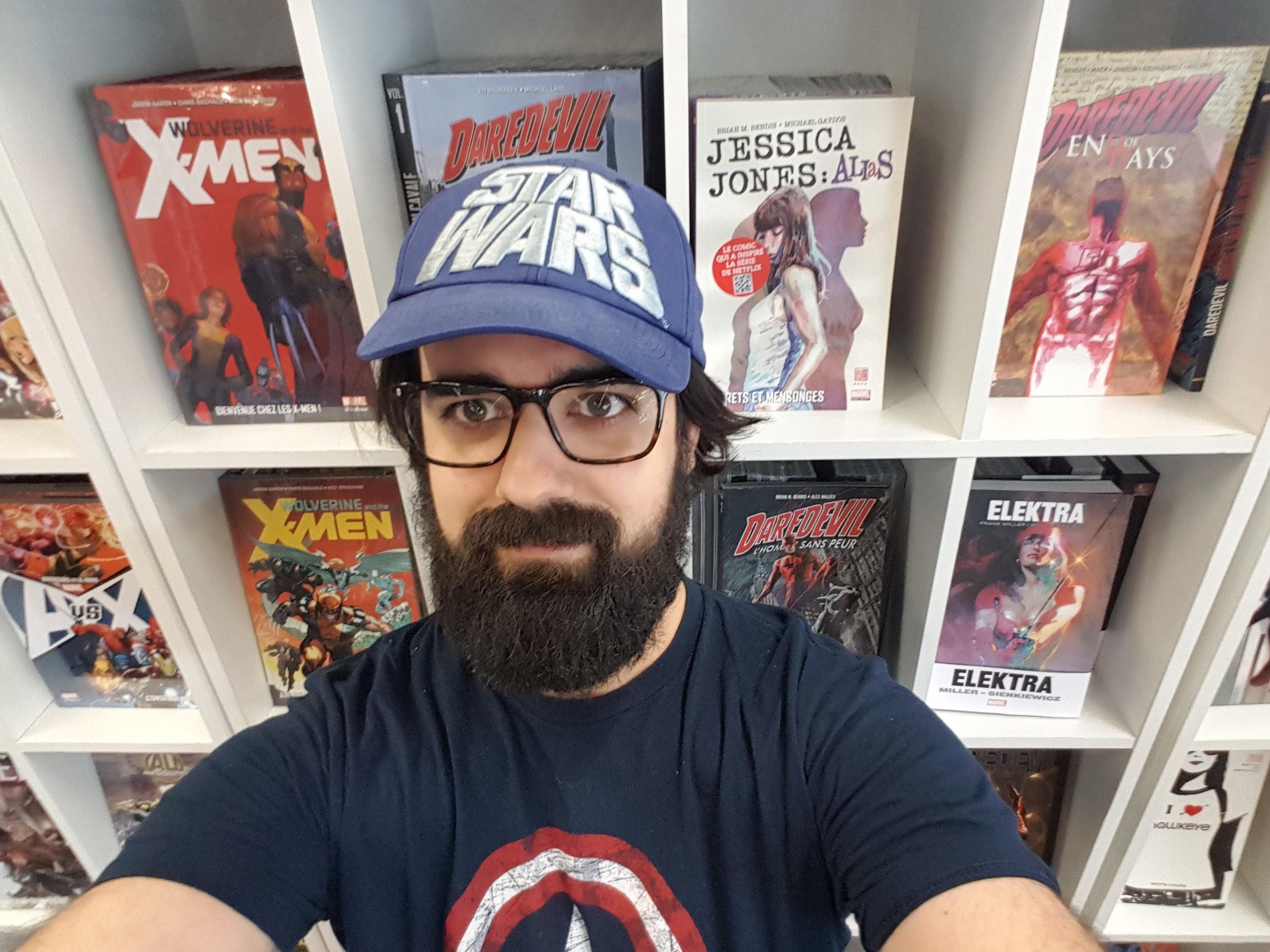 Aurelien Vivès s'adresse à la communauté des lecteurs de Panini Comics France.