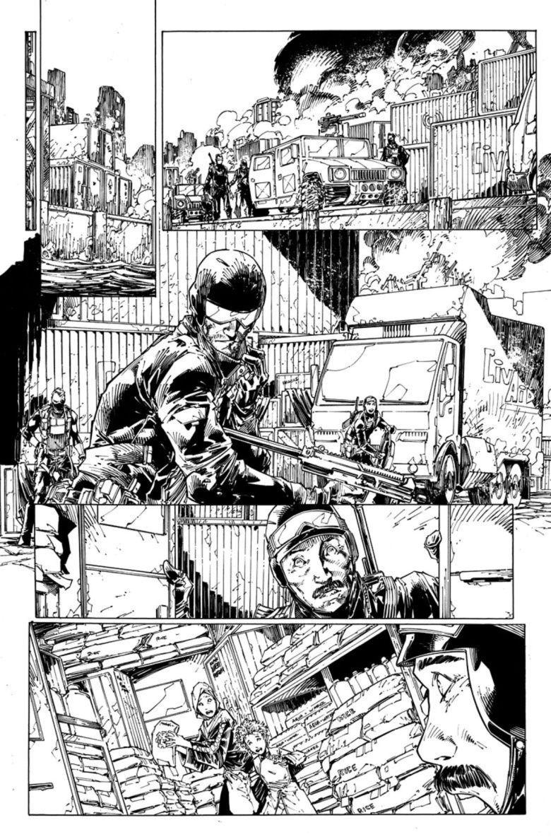 Bloodshot #1 page 2 par Brett Booth et Adelso Corona (Valiant)