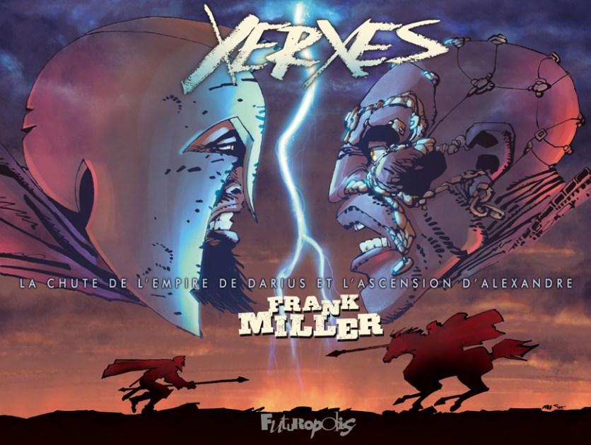 Xerxès par Frank Miller (Futuropolis)