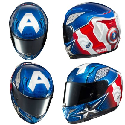 Casques Marvel.