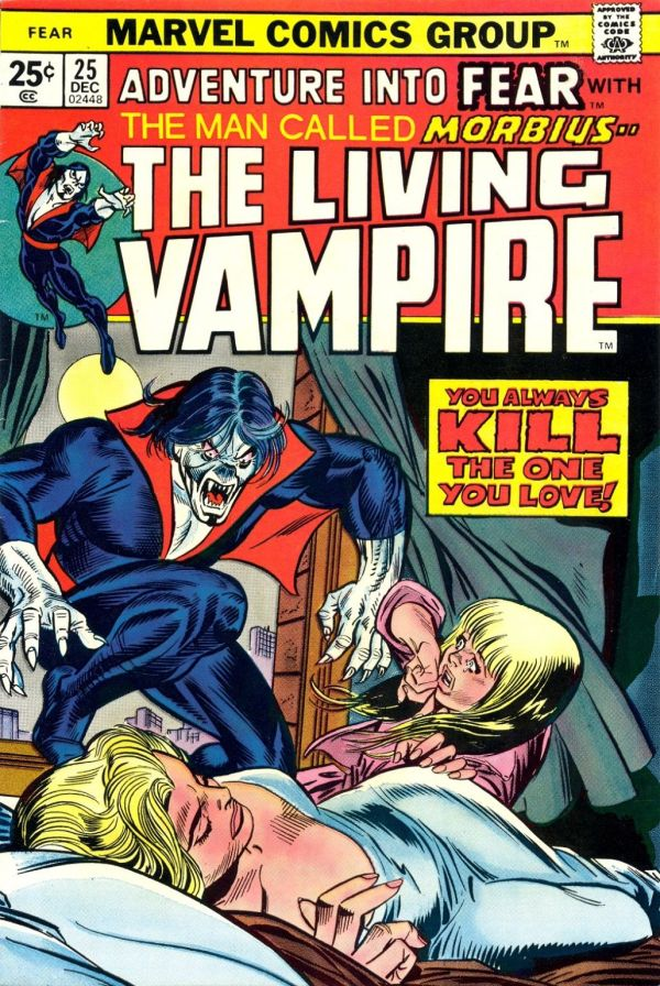 Adventures into Fear : Morbius the living vampire