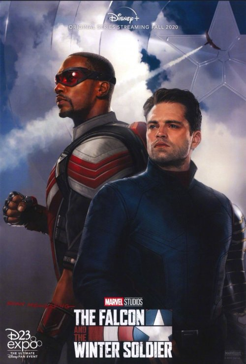 affiche The Falcon and the Winter Soldier