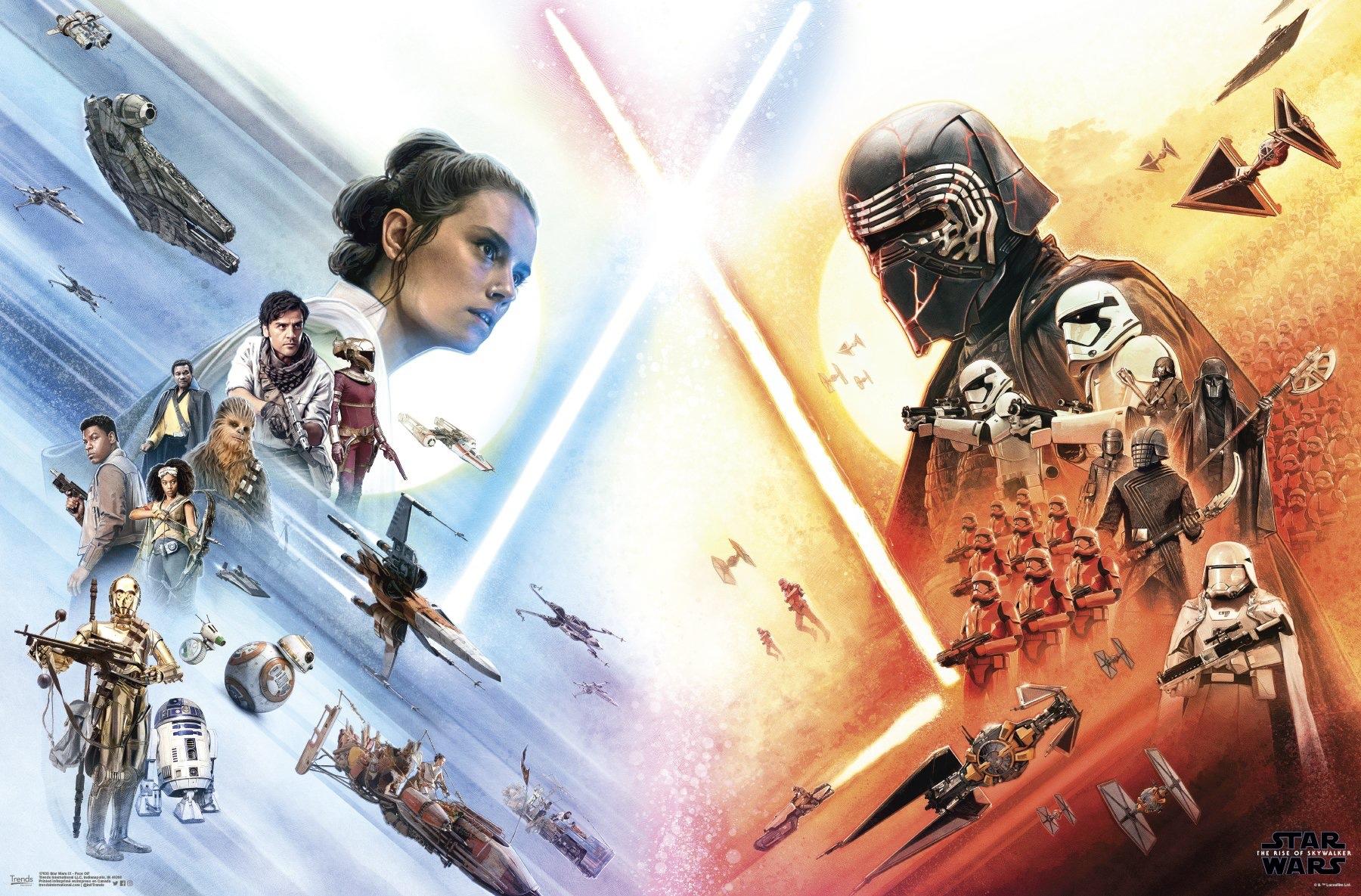 star wars l u2019ascension de skywalker   des posters en