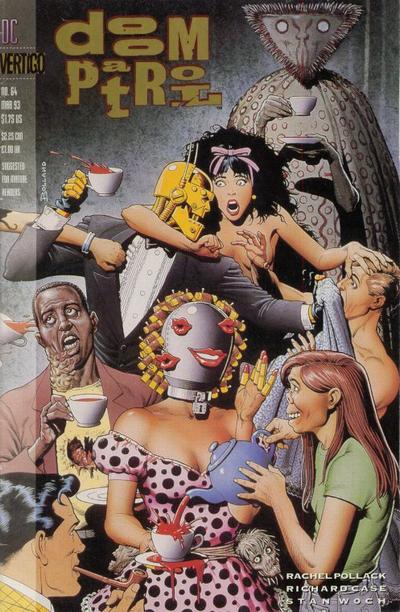Couverture de Doom Patrol #64 par Brian Bolland (DC Comics).