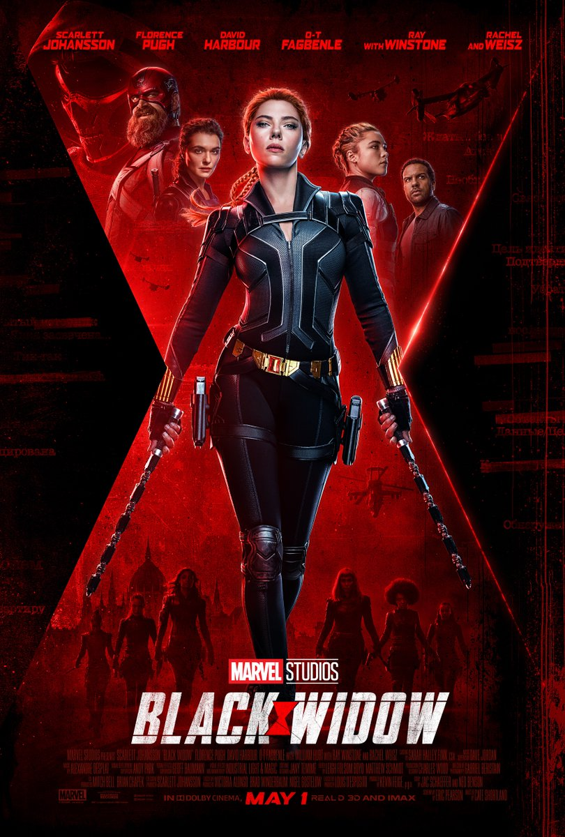 Affiche Black Widow