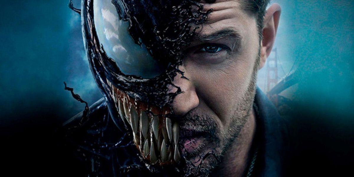 Venom 2 : Tom Hardy dévoile le nouveau logo du film via un ...