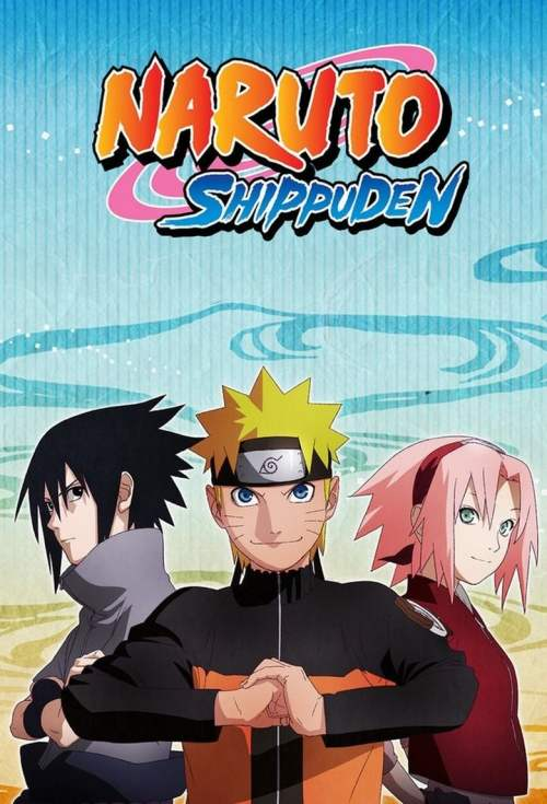 affiche Naruto Shippûden