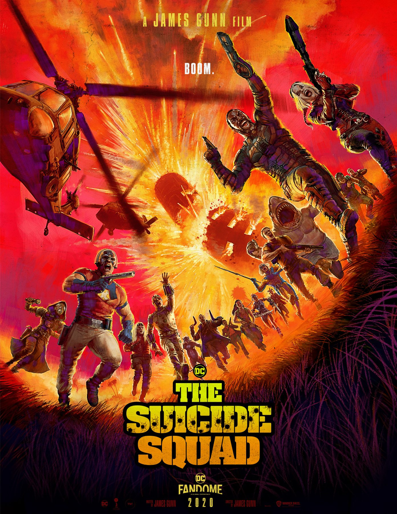 Affiche The Suicide Squad