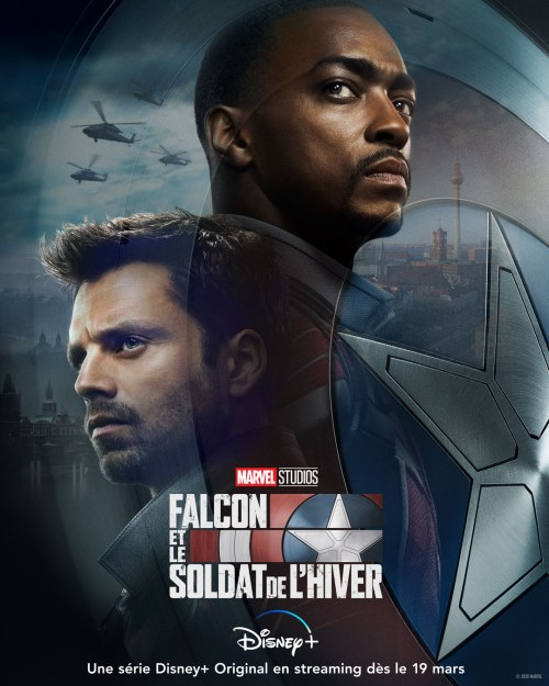 affiche Falcon et le Soldat de l'Hiver (The Falcon and the Winter Soldier)