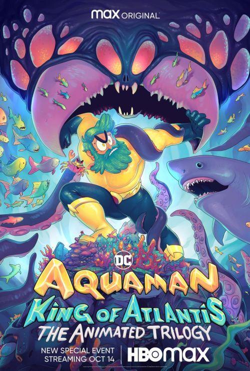 affiche Aquaman: King of Atlantis