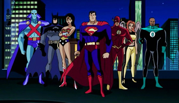 justice-league-unlimited-season-2-11-panic-in-the-sky-original-team-martian-manhunter-batman-wonder-woman-superman-flash-hawkgirl-green-lantern