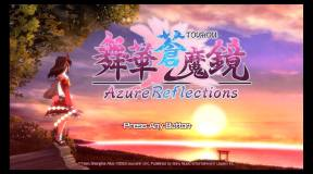 TOUHOU Azure Reflections Review