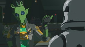 Kaz and Torra look for Missing Platformers on the next Star Wars Resistance