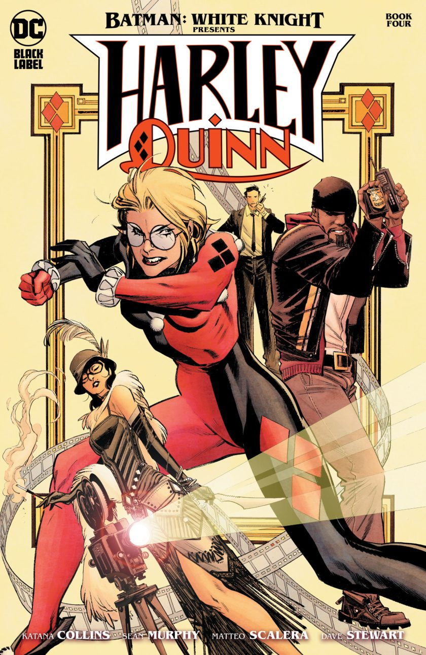 Batman White Knight Present Harley Quinn #4