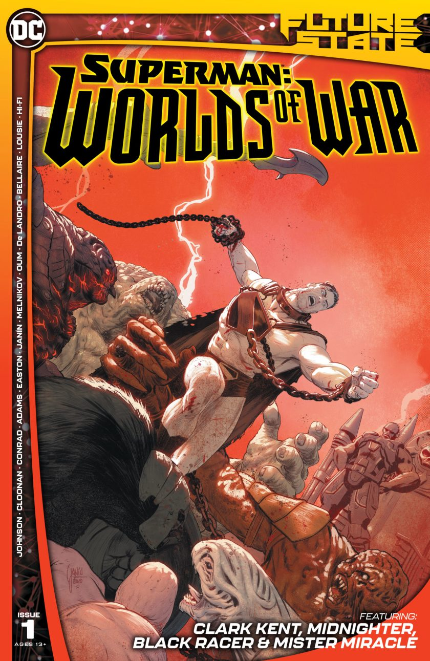 Future State Superman: Worlds of War #1