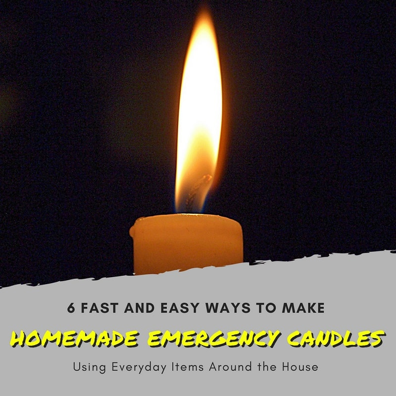 6 Ways to Make Homemade Emergency Candles ⋆ SuperPrepper com