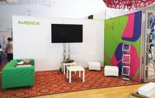 Stand Expozitional - Merck