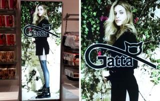 Caseta Luminoasa Backlit Textil – Gatta