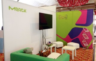 Stand Expozitional - Merck