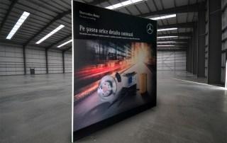 Rama cu Poster Textil – Mercedes-Benz
