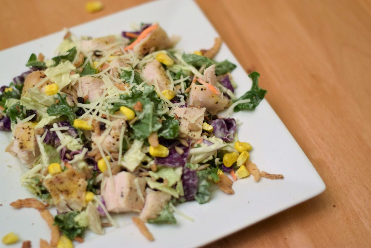 salad kit, freezer meal chicken, broiled chicken breasts, easy freezer meal, super savvy sarah
