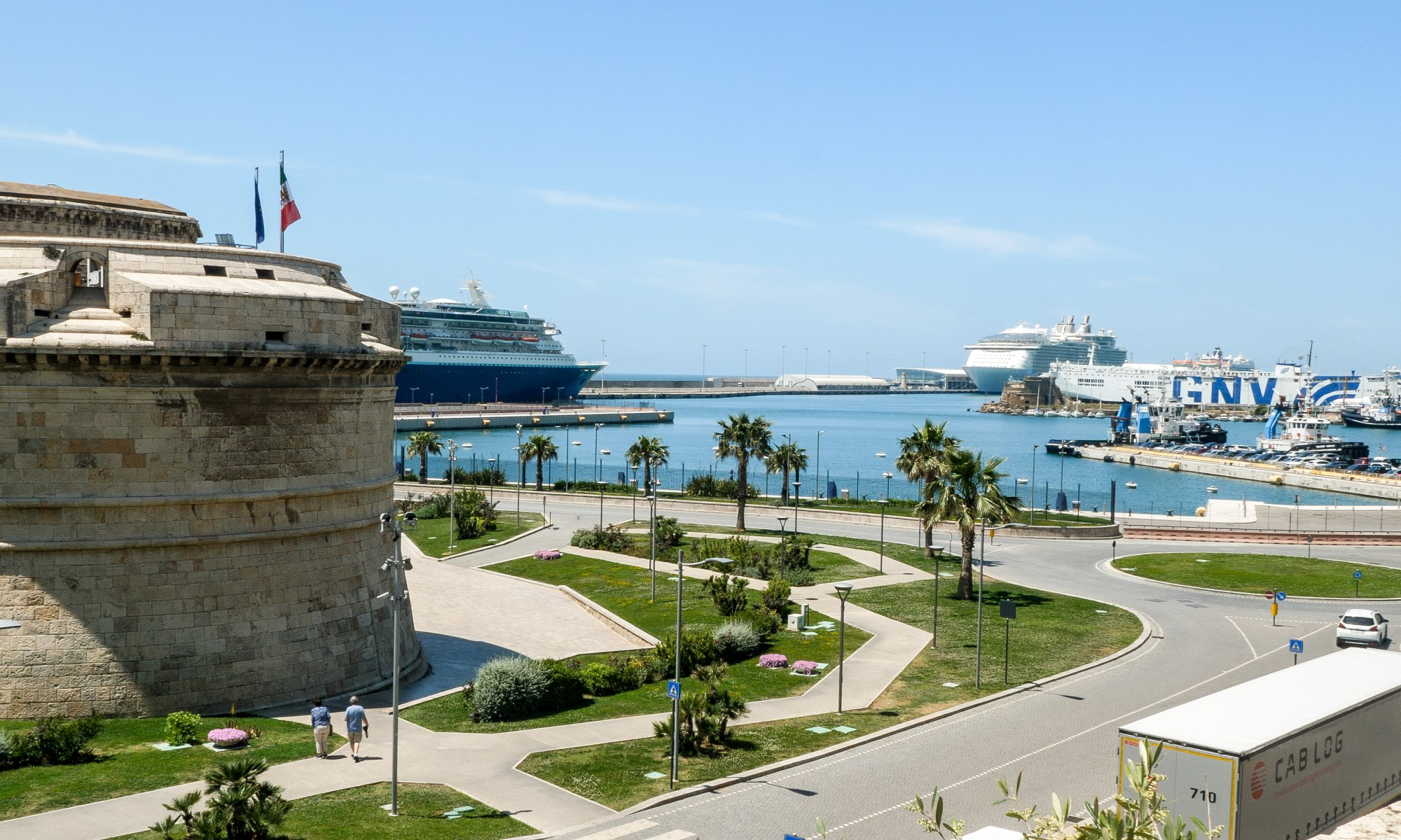 Civitavecchia Port