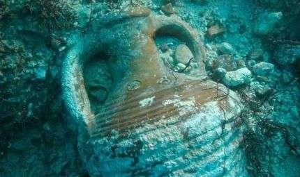 Reperti subacquei sotto controllo alla Gallinara