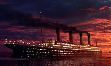 Il Titanic torna in 3D