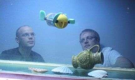 U-Cat: robot subacqueo o tartaruga?