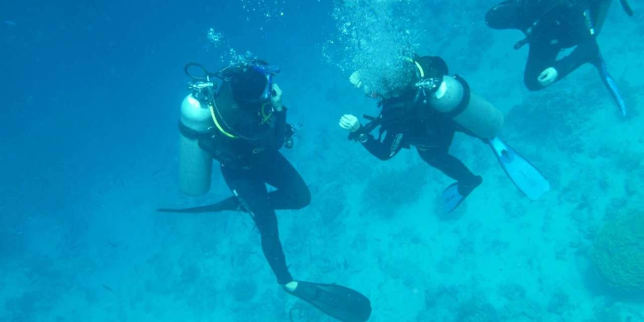 Uno studio evidenzia i benefici della terapia subacquea