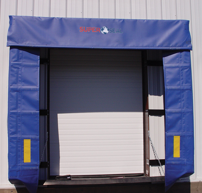 0501 Retractable Dock Shelter Super Seal Manufacturing