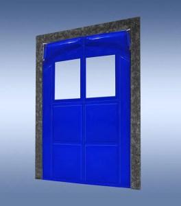 SERIES 2000 FLEXIBLE VINYL RETAIL IMPACT DOOR