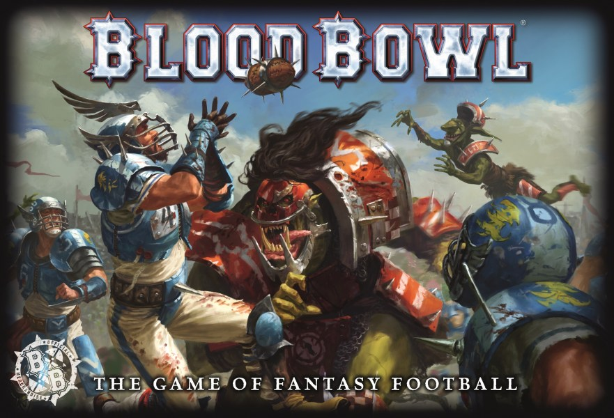 Blood Bowl  ENGLISH    Games Workshop miniature game original