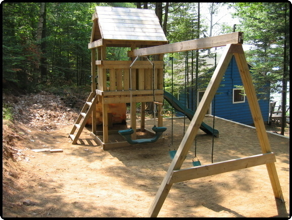 Playhouse Swing Set Plans