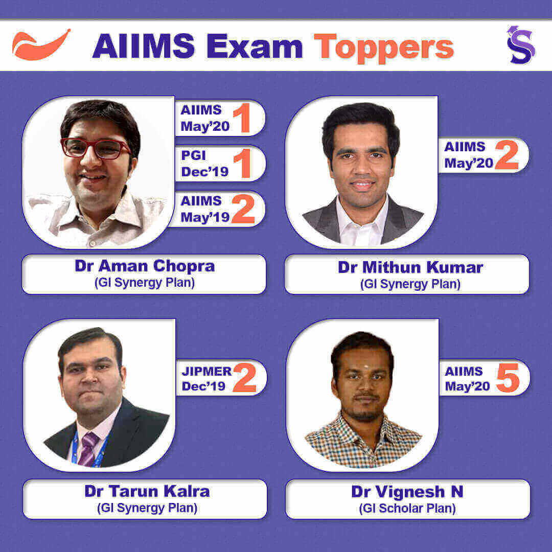 AIIMS Exam Toppers