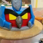 Tarta personalizada de Angry Birds Transformers