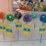 Cakepops para el cumpleaños de Esteban y Pedro