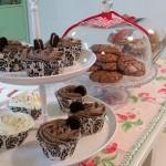 Cupcakes de oreo y galletas de chocolate