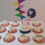 Minicupcakes para cumpleaños