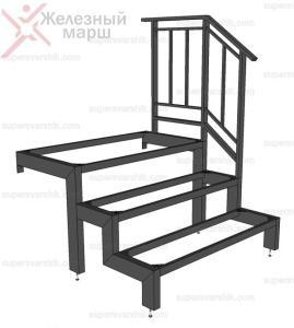 Металлические лестницы и крыльцо из металла